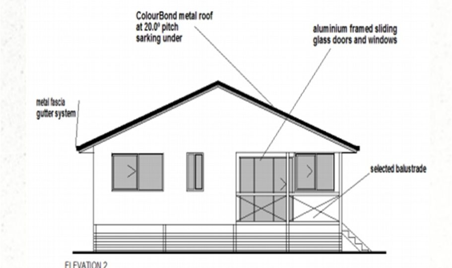 One Storey Kit Homes Plan 112 112m2 3 Bed 2 Bath 11