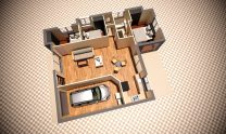 One Storey Kit Homes Plan Lh D