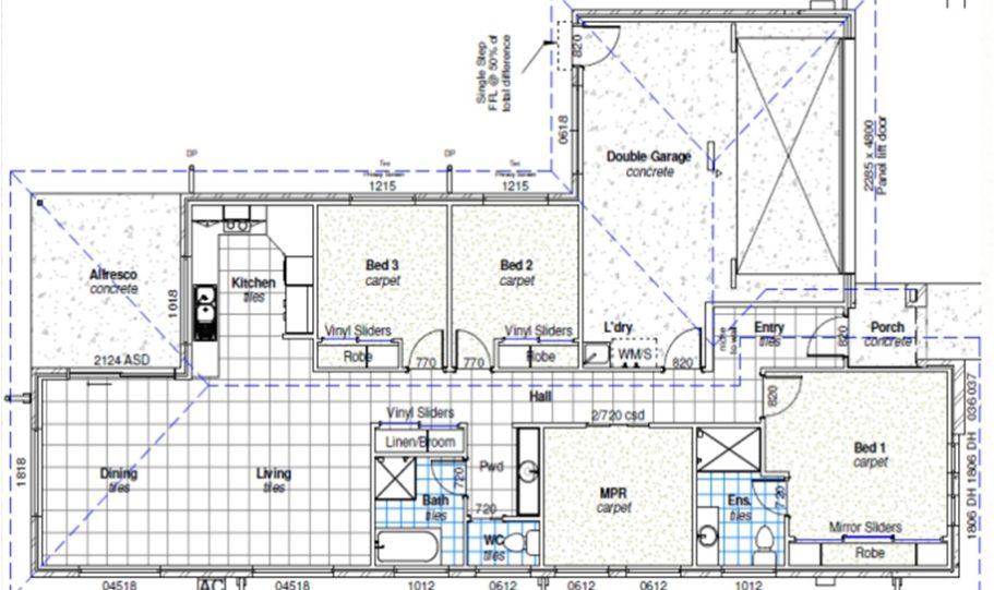 One Storey Kit Homes Plan 181 182m2 4 Bed 2 Bath 8