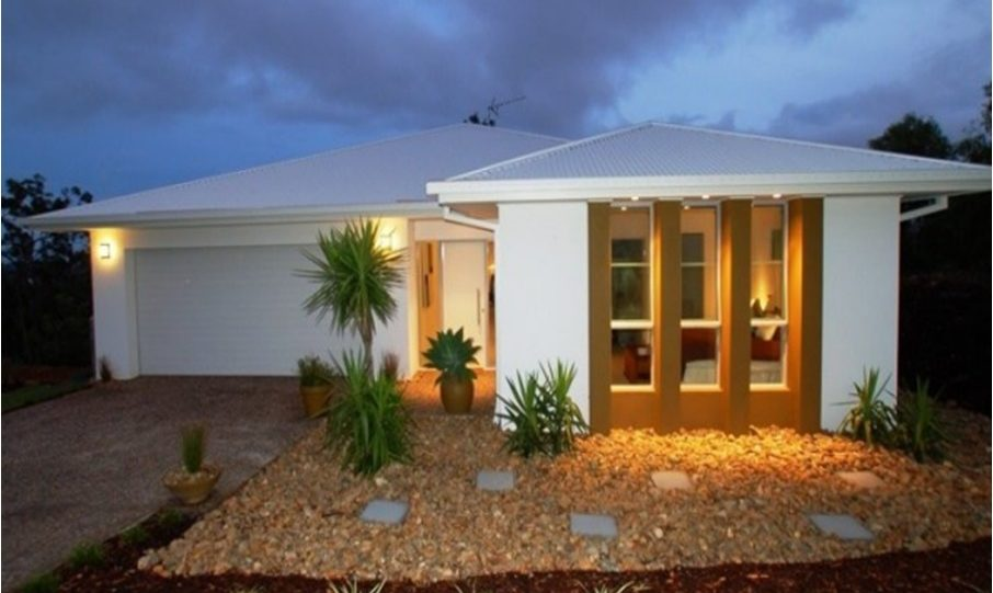 One Storey Kit Homes Plan 232 232.19 m2 4 Bed 2Bath 1