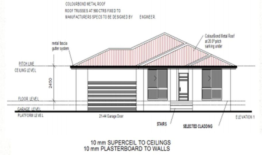 One Storey Kit Homes Plan 232 232.19 m2 4 Bed 2Bath 10
