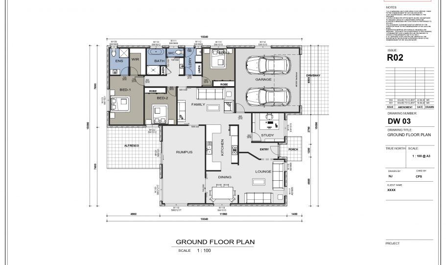 One Storey Kit Homes Plan Jp