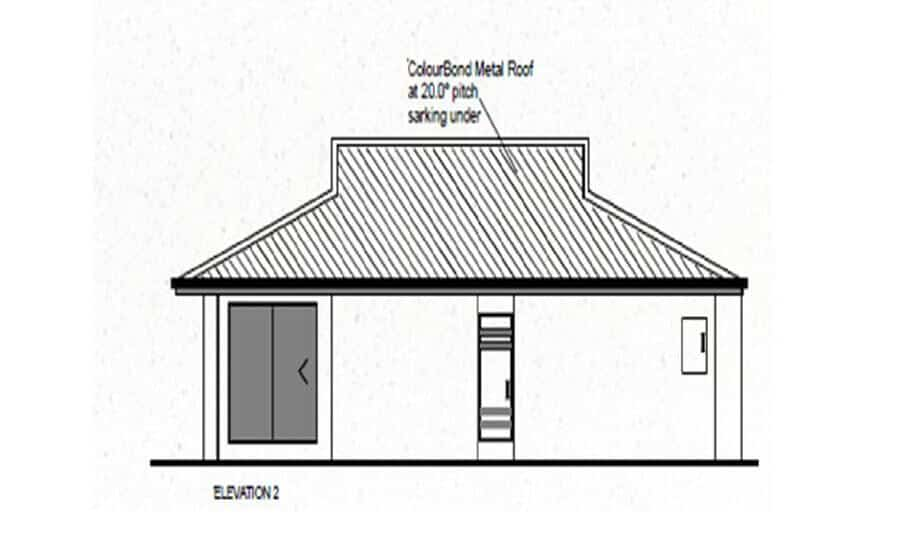 One Storey Plan 119 04