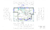 One Storey Plan 127 02