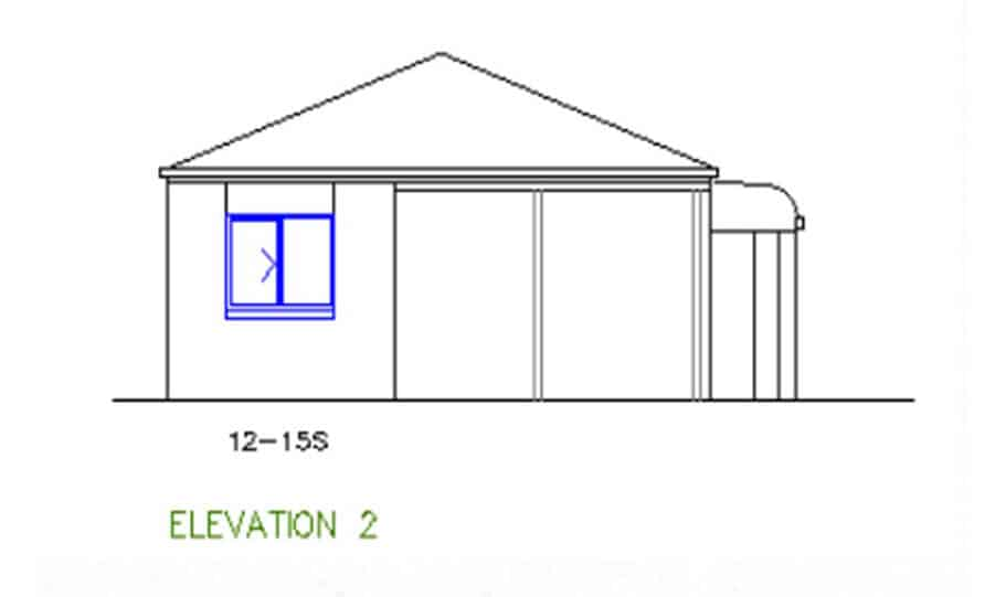 One Storey Plan 127 04