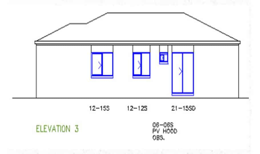 One Storey Plan 127 05