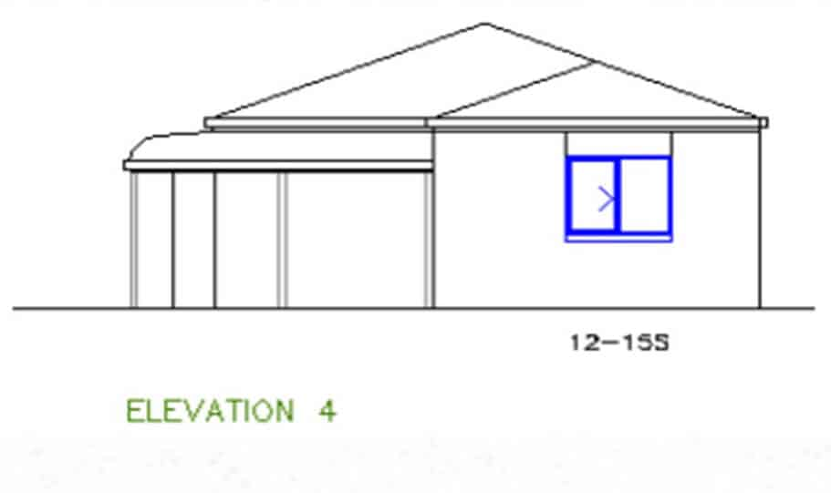 One Storey Plan 127 06