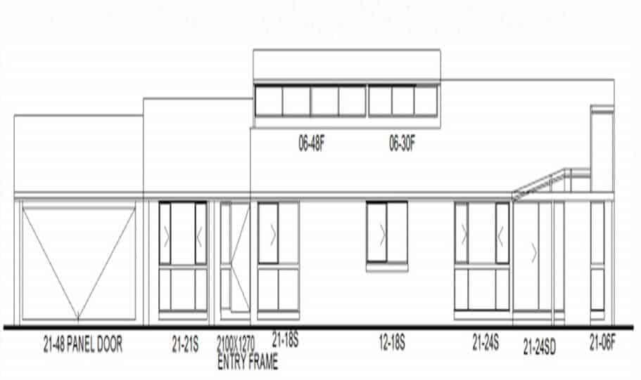One Storey Plan 170 CL 02