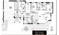 One Storey Plan 170 CL 06