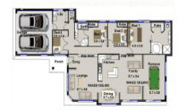 One Storey Plan 220N 01