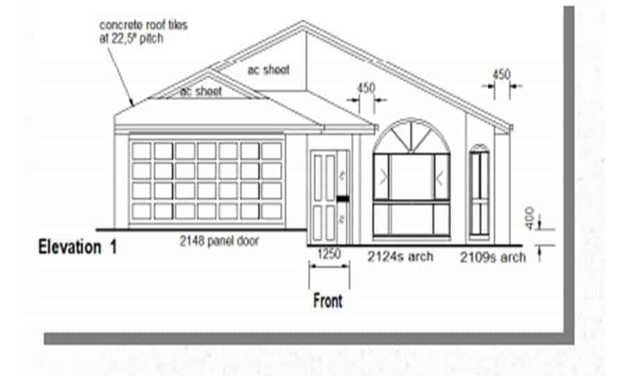 One Storey Plan 220N 03