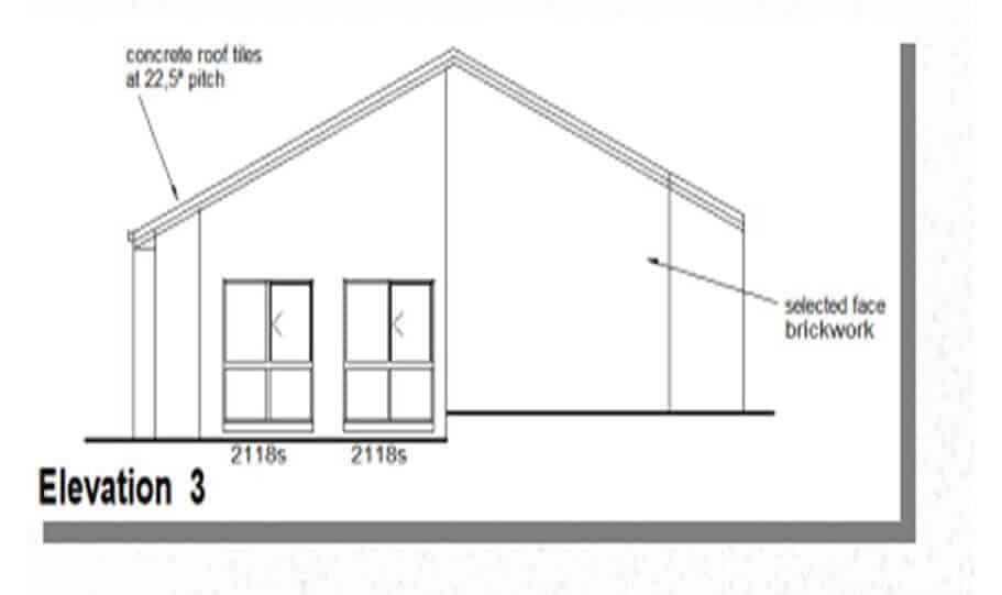One Storey Plan 220N 05