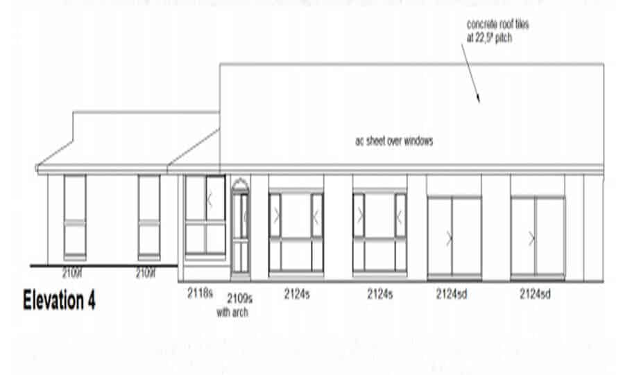 One Storey Plan 220N 06
