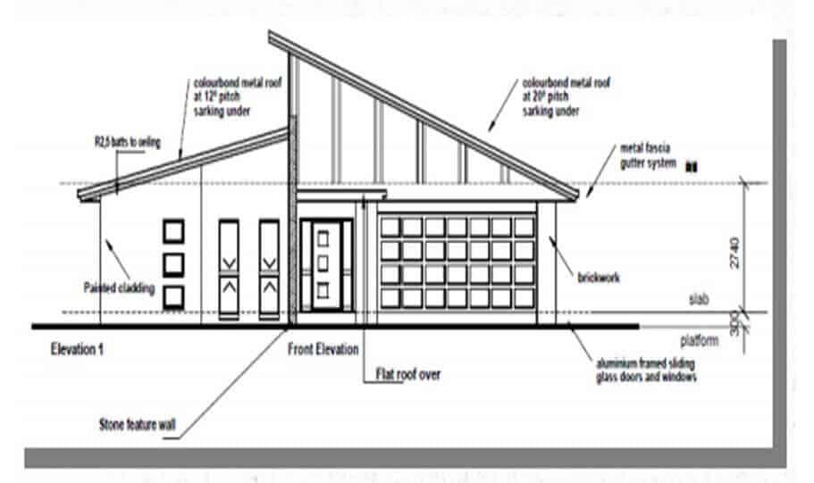One Storey Plan 246 03