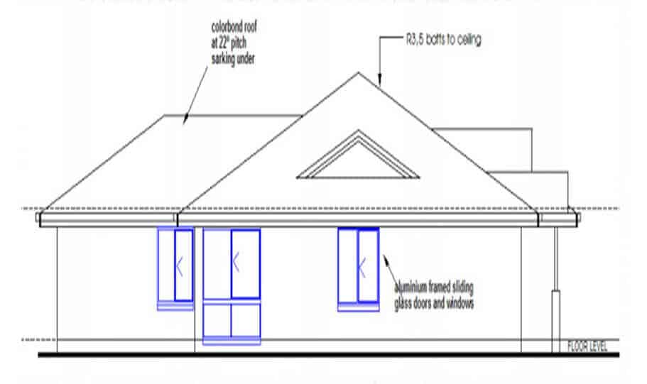 One Storey Plan 250JP 03