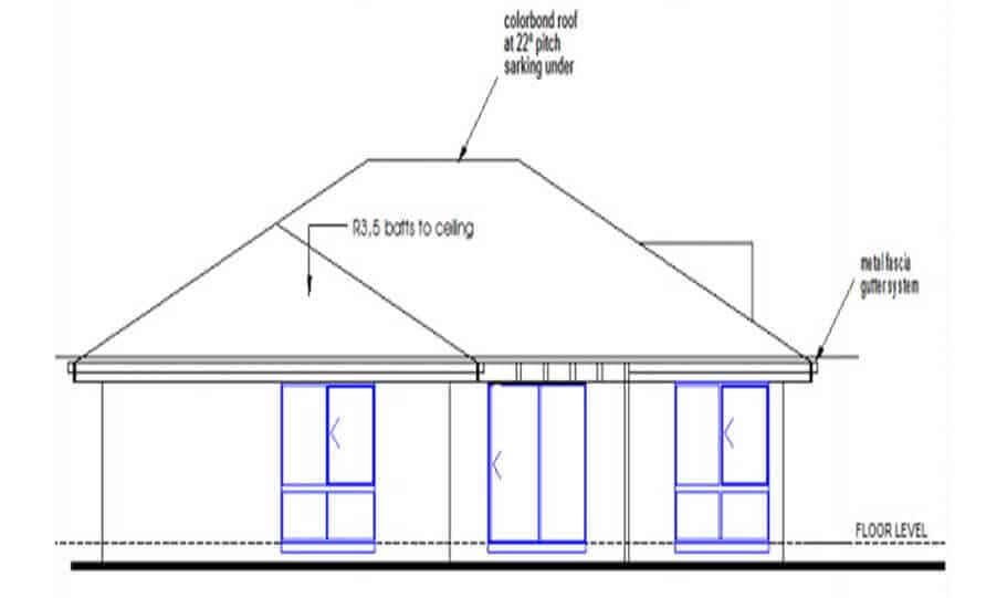 One Storey Plan 250JP 04
