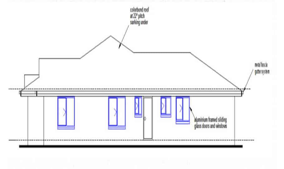 One Storey Plan 250JP 05