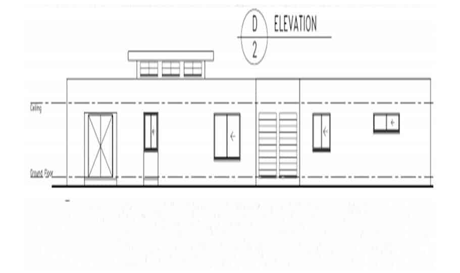 One Storey Plan 270N 04