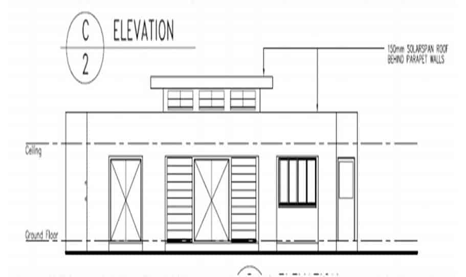 One Storey Plan 270N 05