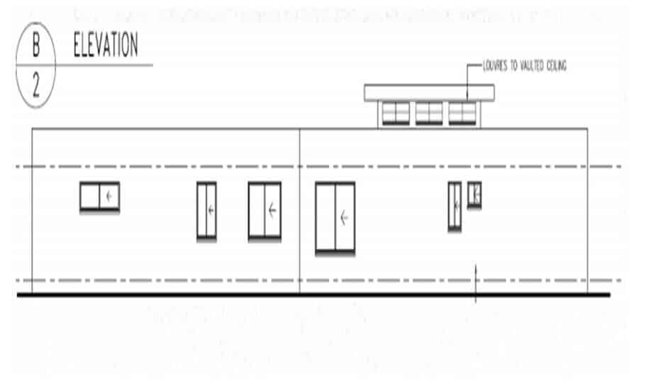 One Storey Plan 270N 07