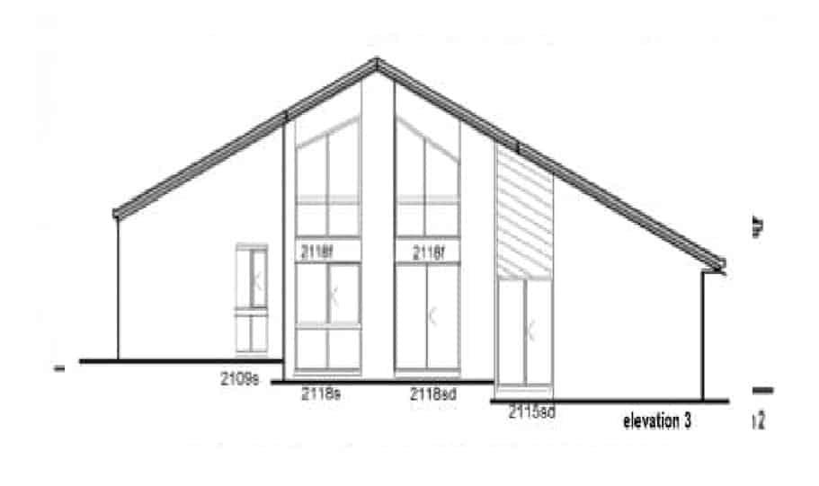 Sloping Land Kit Home Design 221 05