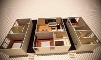 Sloping Land Kit Home Design D