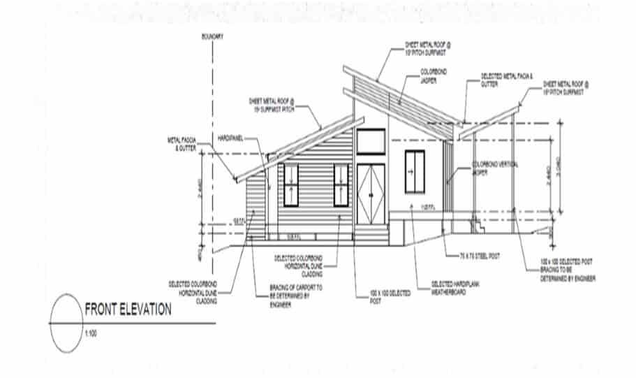Sloping Land Kit Home Design 242 04