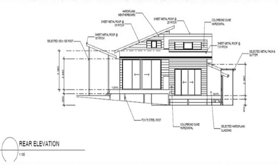 Sloping Land Kit Home Design 242 06