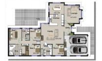 Sloping Land Kit Home Design 268 01