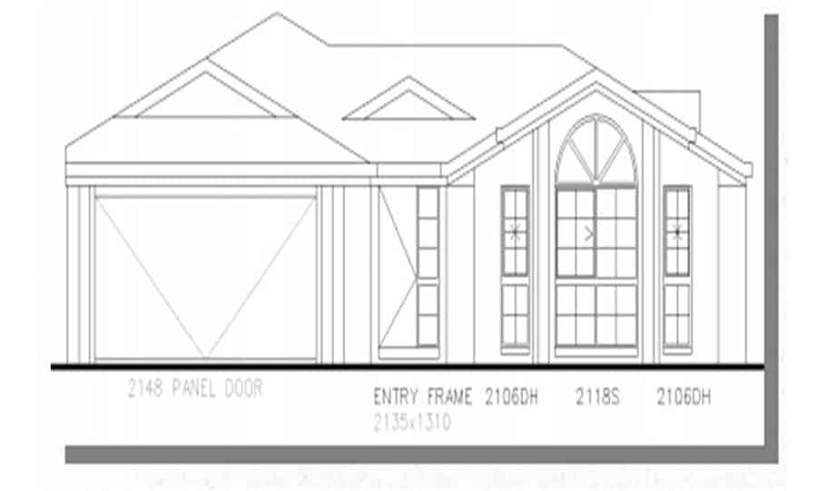 Sloping Land Kit Home Design 268 03