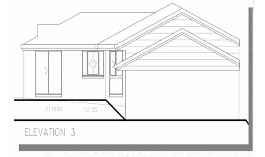Sloping Land Kit Home Design 268 05