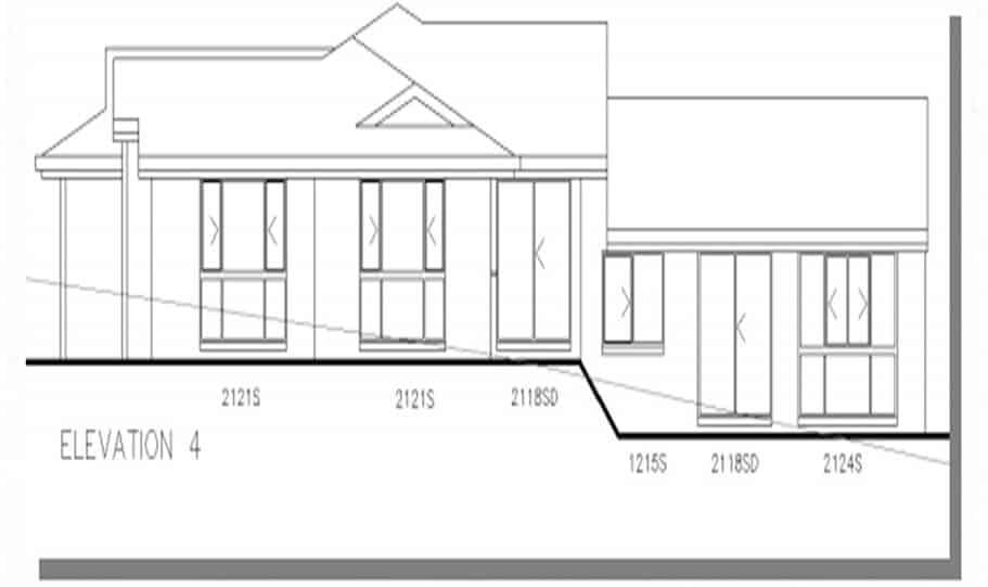 Sloping Land Kit Home Design 268 06