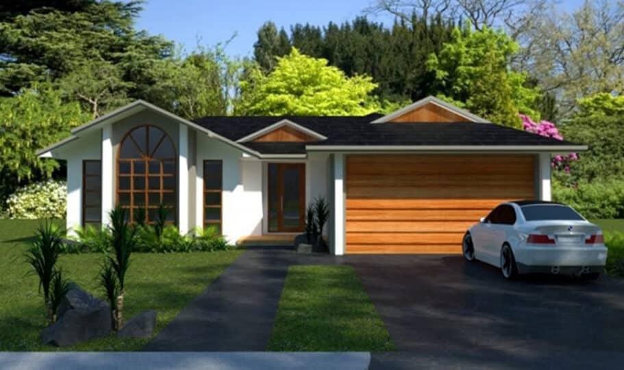 Sloping Land Kit Home Design 268 07
