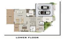 Sloping Land Kit Home Design 279 02
