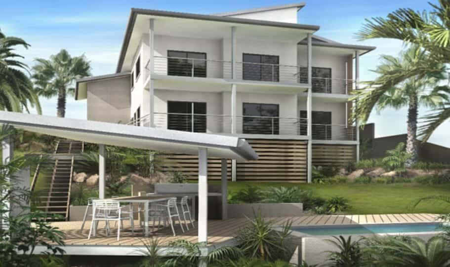 Sloping Land Kit Home Design 279 07