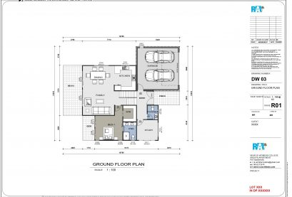 Sloping Land Kit Home Design