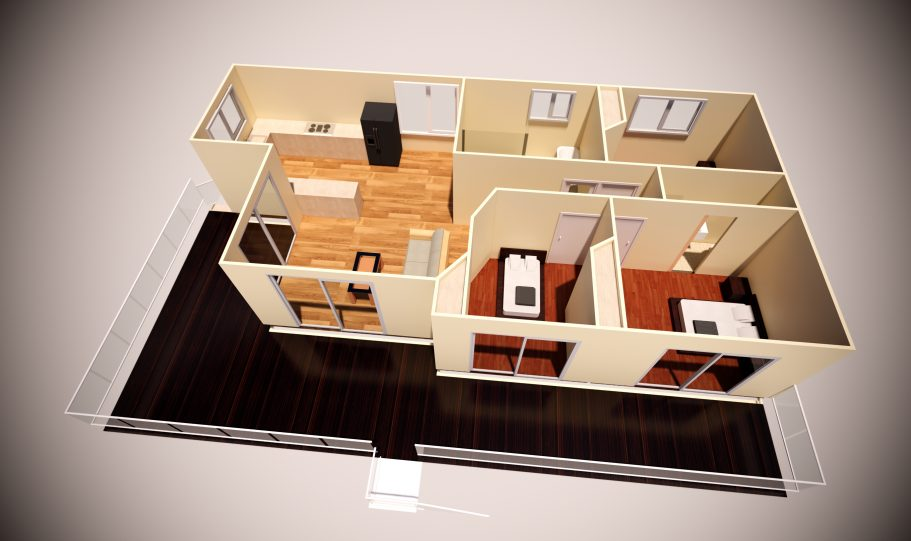 Two Storey Kit Home – Plan A
