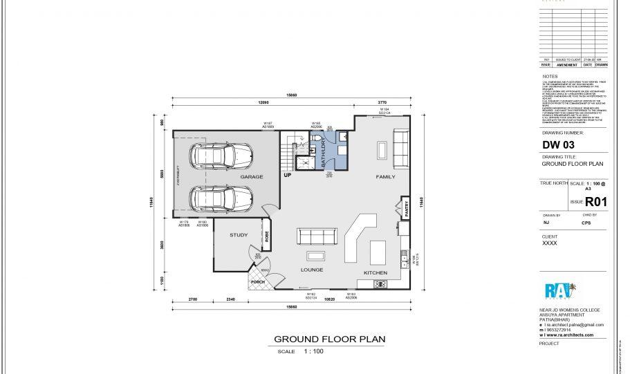Two Storey Kit Home – Plan