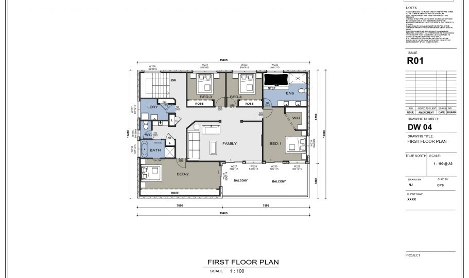 Two Storey Kit Home – Plan Lh