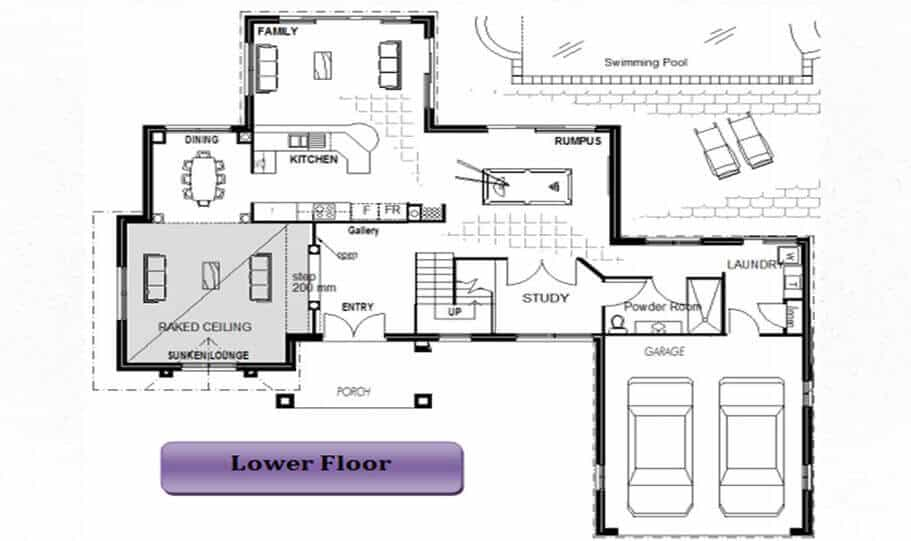 Two Storey Kit Home 264 05