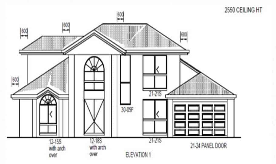 Two Storey Kit Home 264 07