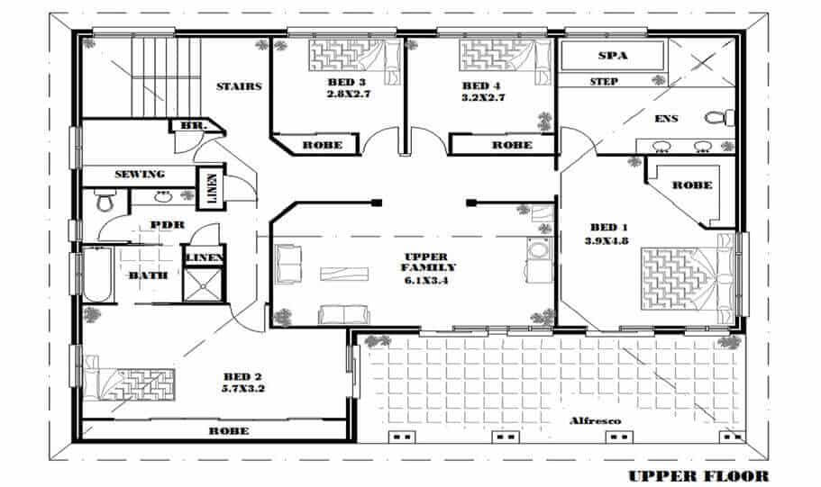 Two Storey Kit Home 280 LH 01