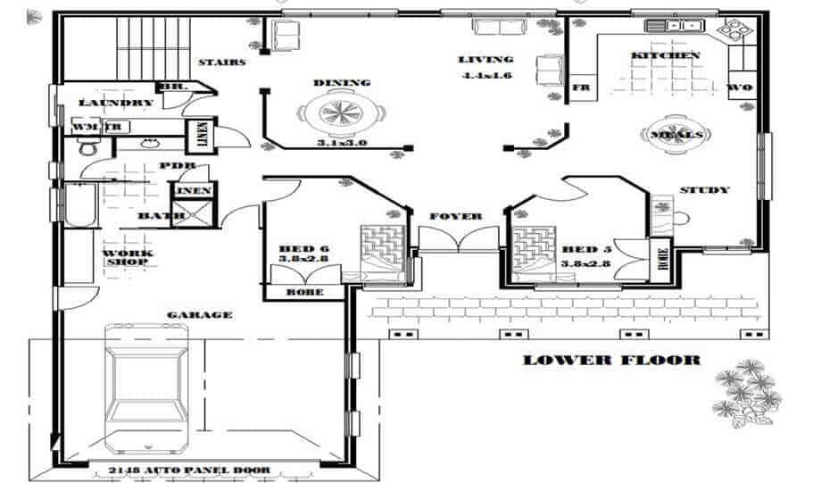 Two Storey Kit Home 280 LH 02