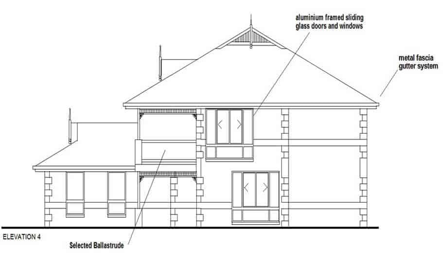 Two Storey Kit Home 280 LH 08