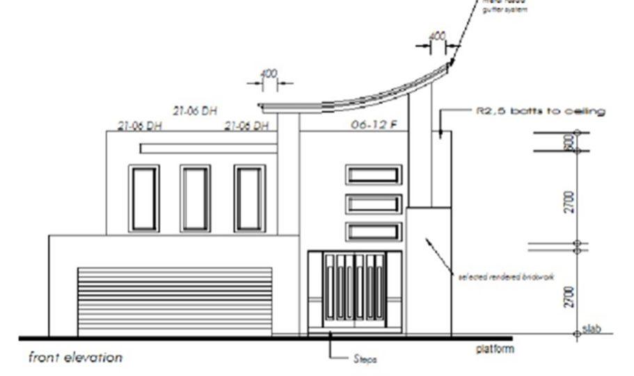 Two Storey Kit Home Plan 426 426 m2 4 Bed 3 Bath 6