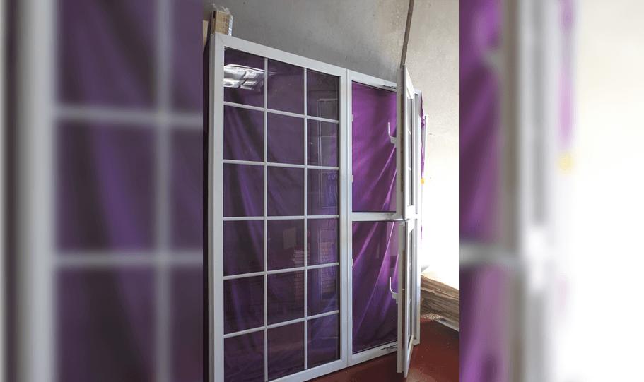 UPVC Double Glazed French Design Doors 12
