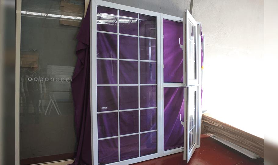 UPVC Double Glazed French Design Doors 13