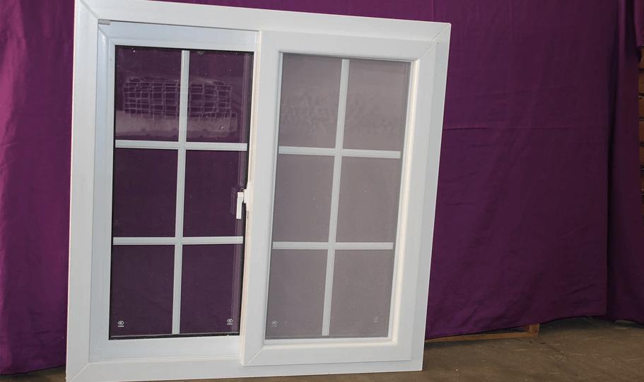 UPVC Double Glazed French Design Doors and Windows 03