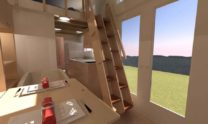 SPARK Tiny house Comptche 24 08