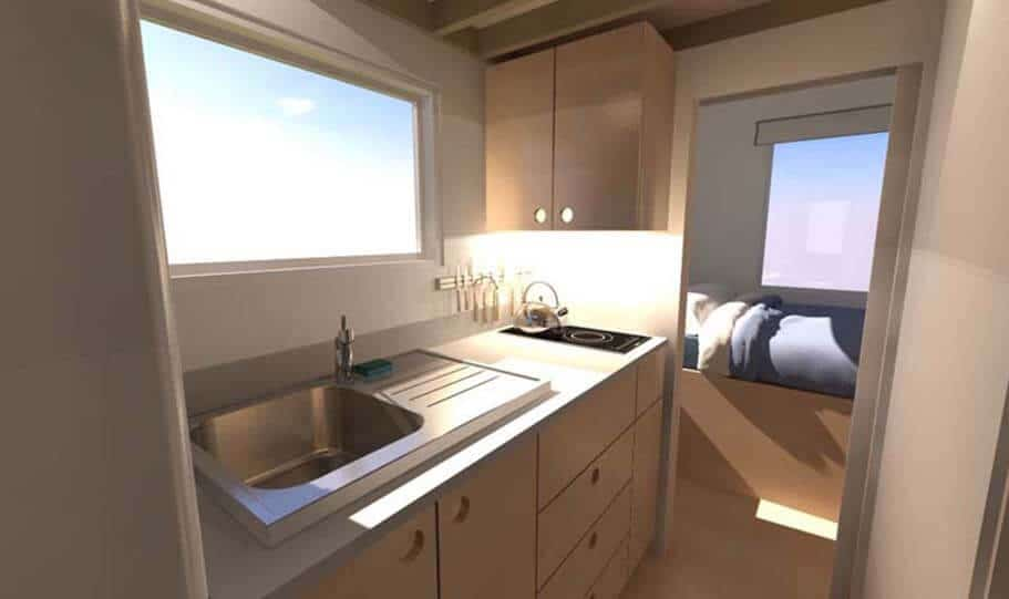 SPARK Tiny house Leggett 24 06